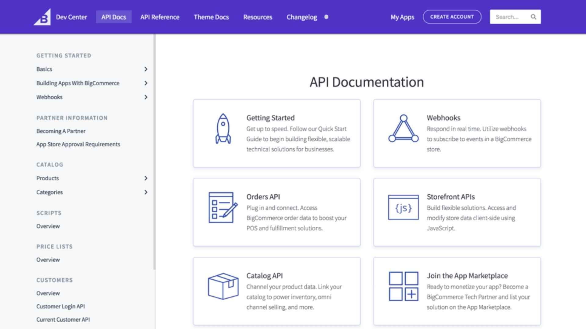 Características de BigCommerce - Realice su comercio impulsado por API con la consultoria de ClandBus