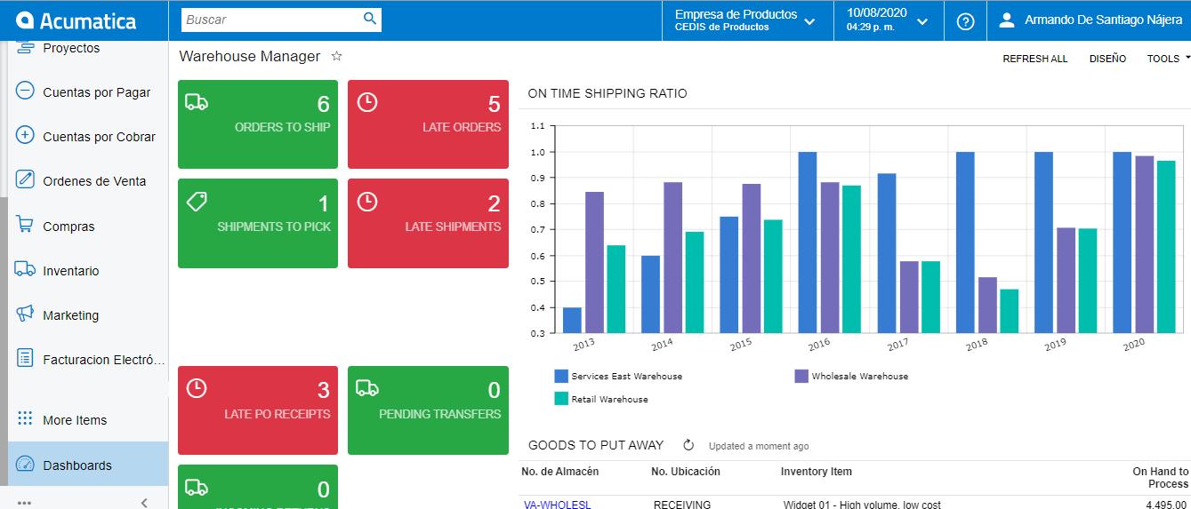 Como manejar inventario en consignación con Acumatica ERP - Controla la información de tus porveedores perfectamente