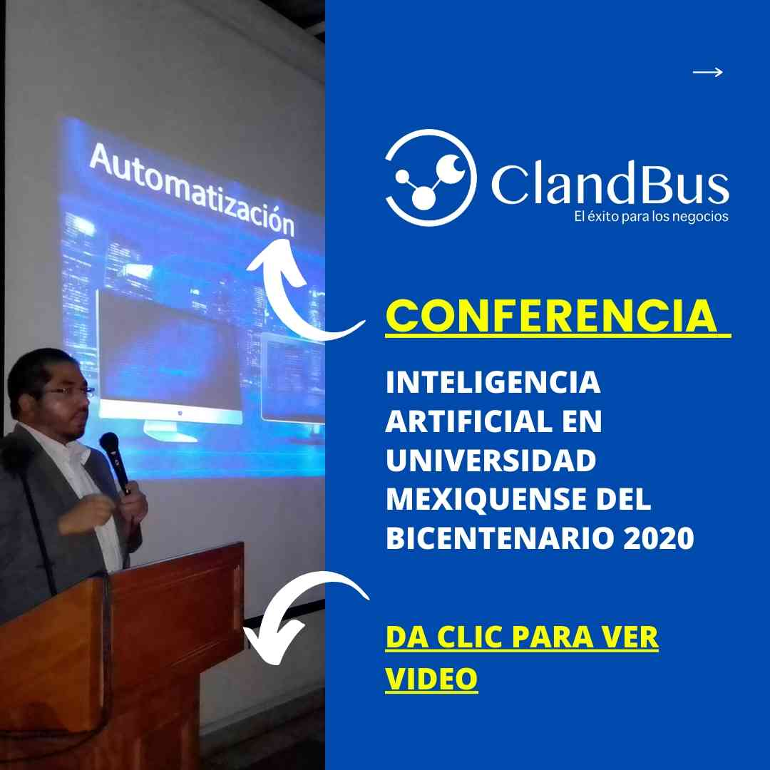 Conferencia en la UMB - CONFERENCIA INTELIGENCIA ARTIFICIAL EN UNIVERSIDAD MEXIQUENSE DEL BICENTENARIO