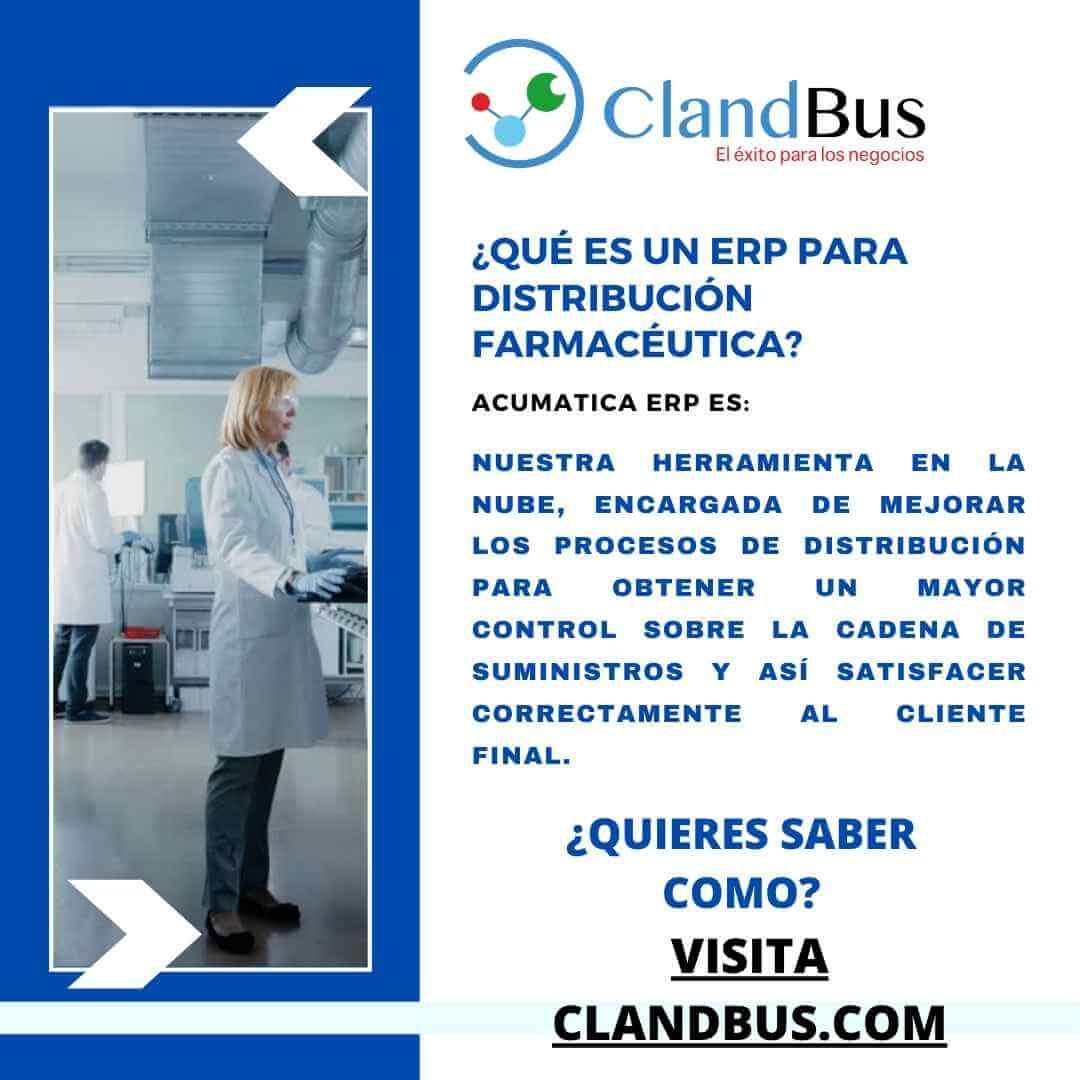 Distribución Farmacéutica - Conozca de la verdadera solución para empresas distribuidoras en la nube con Acumatica ERP