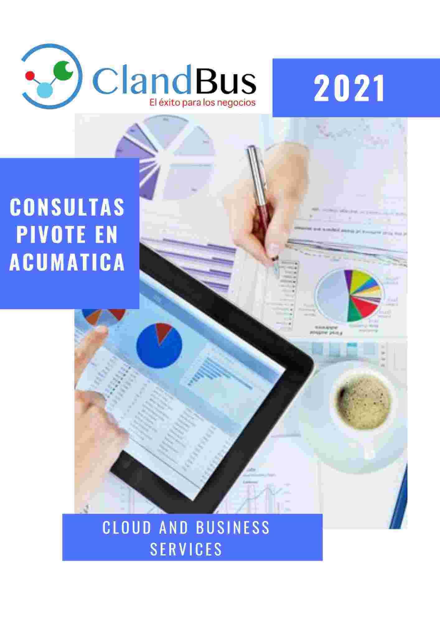 E-book ERP- CONOZCA COMO EJECUTAR LAS CONSULTAS PIVOTE EN ACUMATICA - ASESORES DE CONFIANZA CLANDBUS