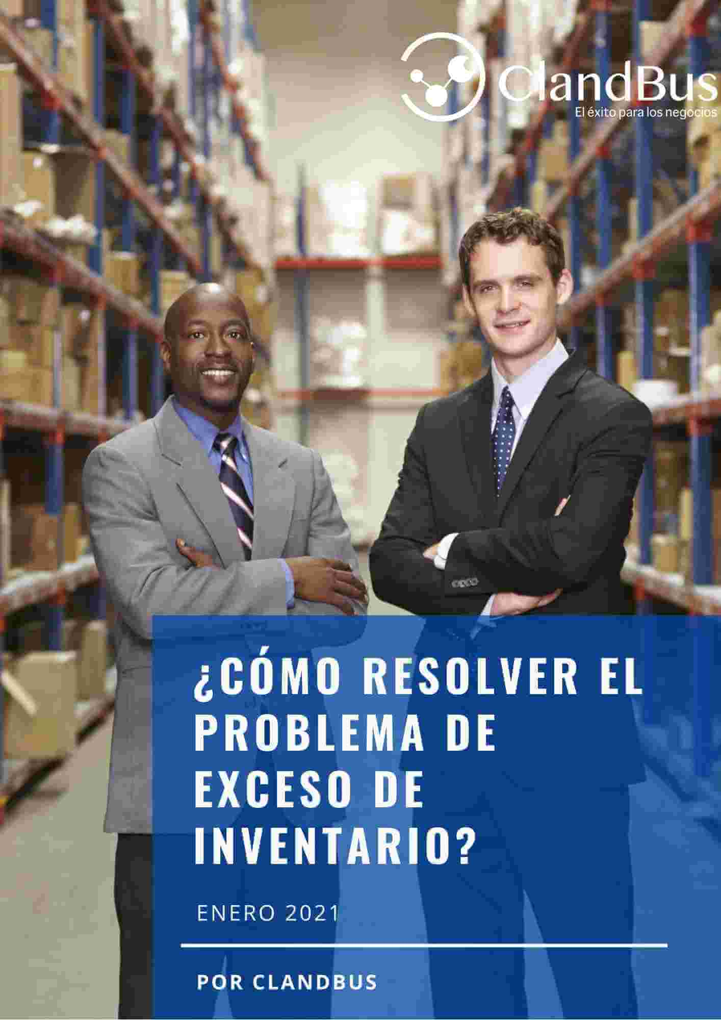 E-book ERP- Evita el Exceso de inventarios con Acumatica ERP y la asesoría de ClandBus
