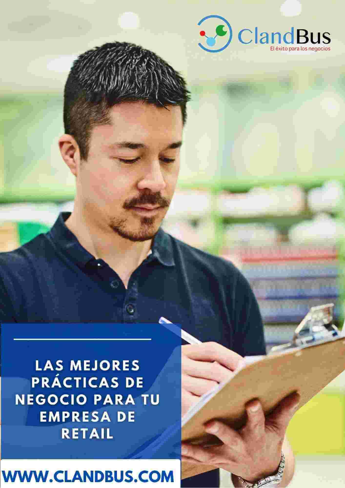 E-book ERP- Las mejores prácticas de negocio para tu empresa de retail con la soporte de clandbus