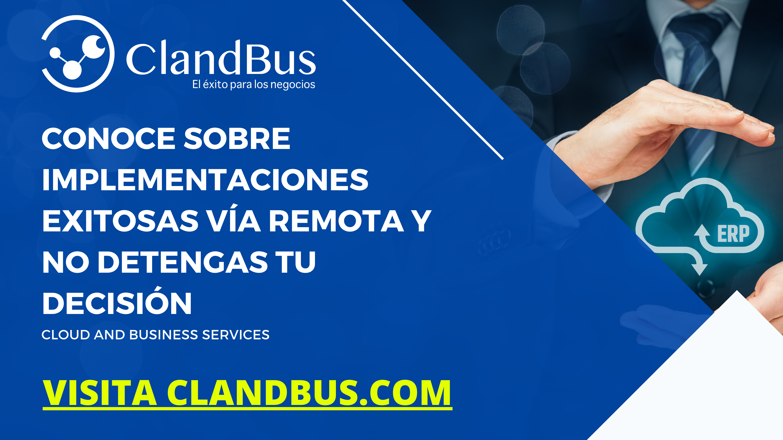 ERP por Módulos -Conoce como implementar Acumatica ERP comunicando tus departamentos eficientemente con ayuda de las estrategias de ClandBus