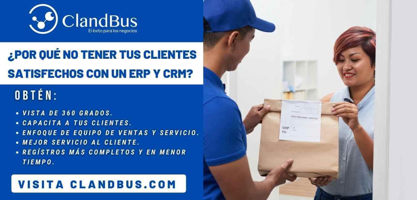 ERP por industria -Satisfaga a todos sus clientes desde el CRM y ERP de Acumatica generando la experiencia de cliente con ayuda de Asesores ClandBus