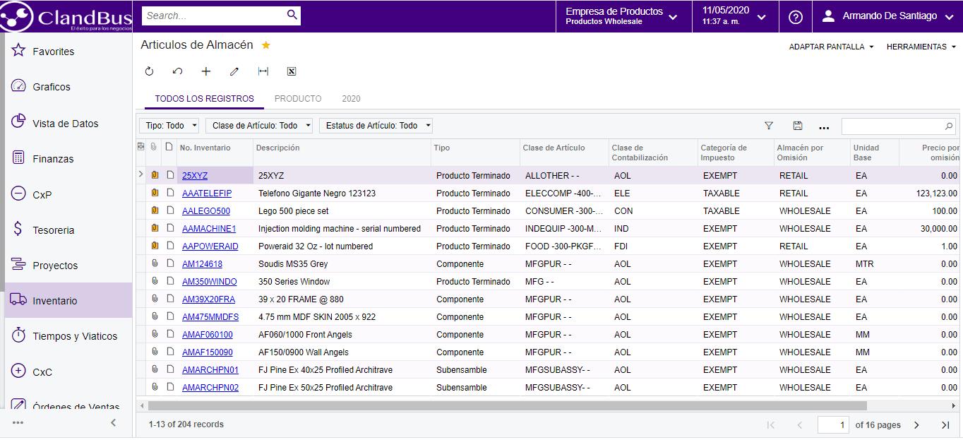 Problemas de abastecimiento Farmacéutico - Visualiza todos tus articulos y suerte tus almacenes fácilmente satisfaciendo a tus clientes un 100% con Acumatica ERP y ClandBus