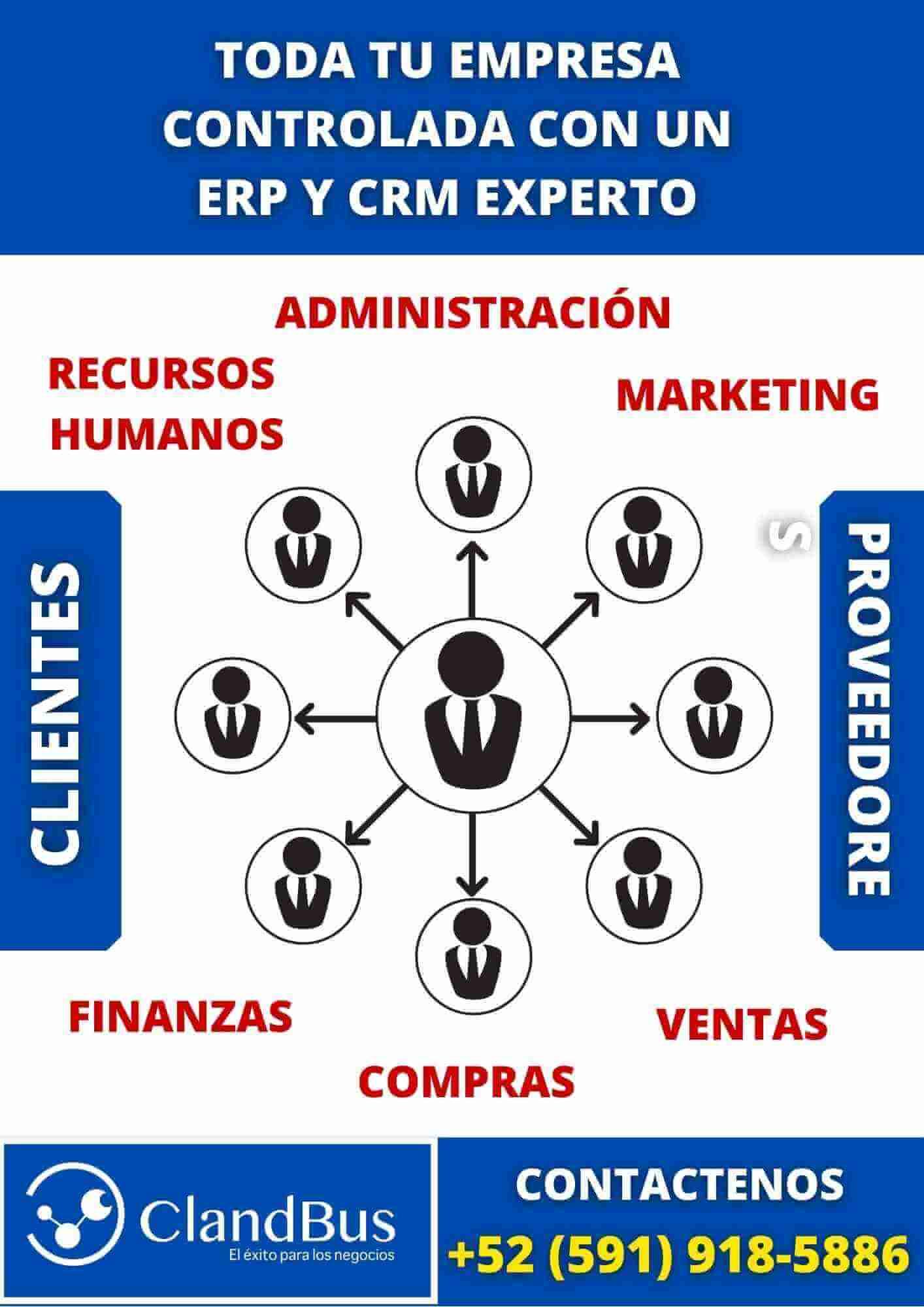 Qué es un ERP - Controle toda su empresa desde un mismo lugar y automatice sus procesos conectando actividades con ClandBus y AcumatIca ERP
