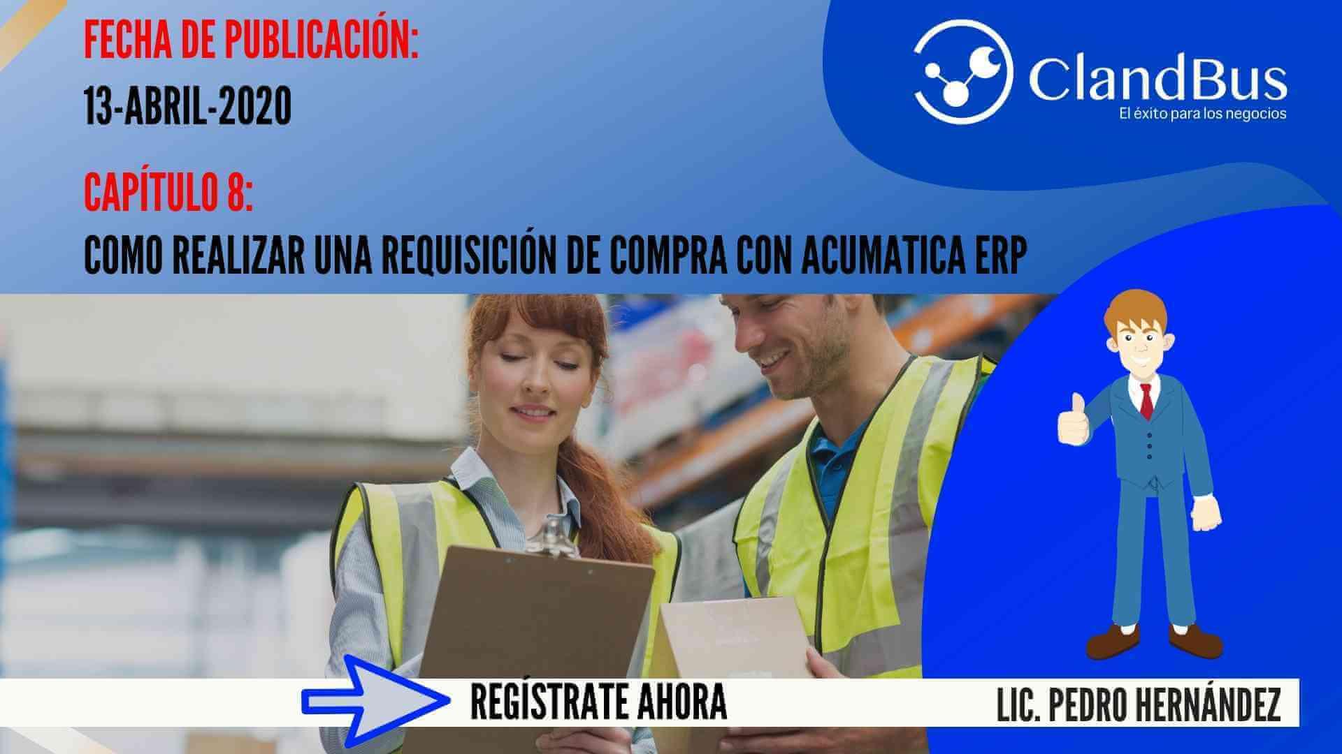Resolución de problemas con Acumatica -como realizar una requisición de compra con Acumatica ERP