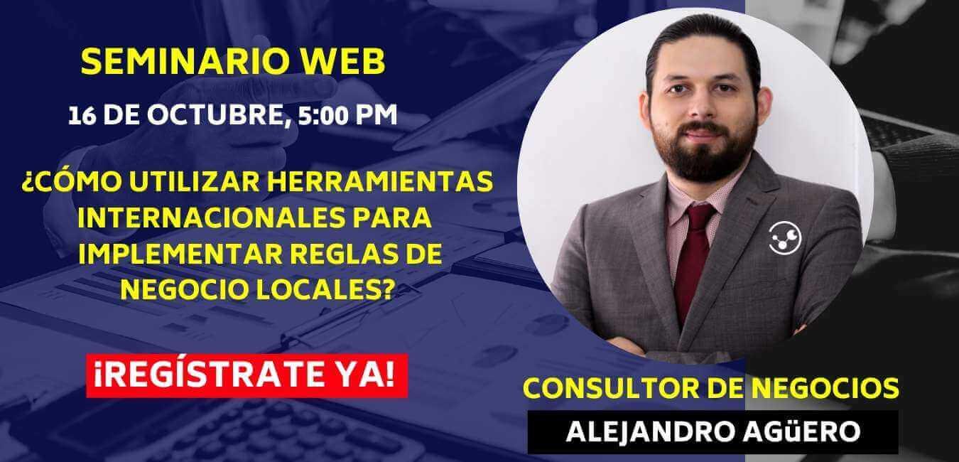 Seminarios Bajo Demanda - Utiliza herramientas internacionales para implementar reglas-de negocio locales con Acumatica y ClandBus