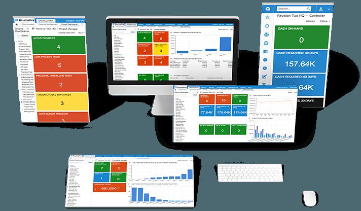 Sistema ERP Cloud Mexico - Con una demo simple conoce como Acumatica te ayuda al mejor funcionamiento de tu empresa