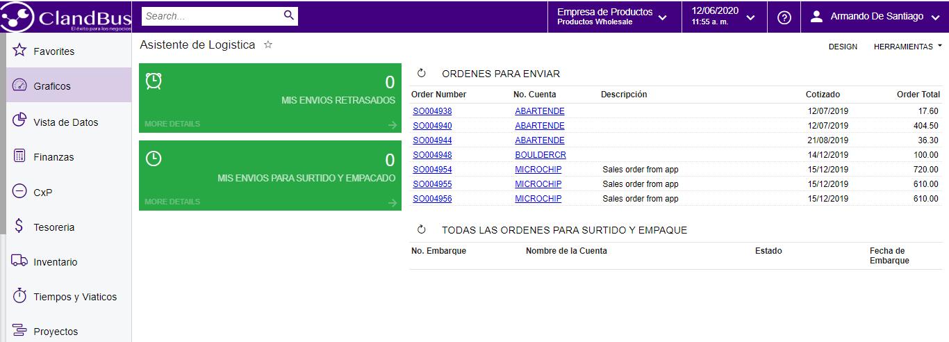 Tendencias en la Distribución- Conoce tu información rápidamente con Dashboard de Asistente de logística junto ClandBus y Acumatica ERP