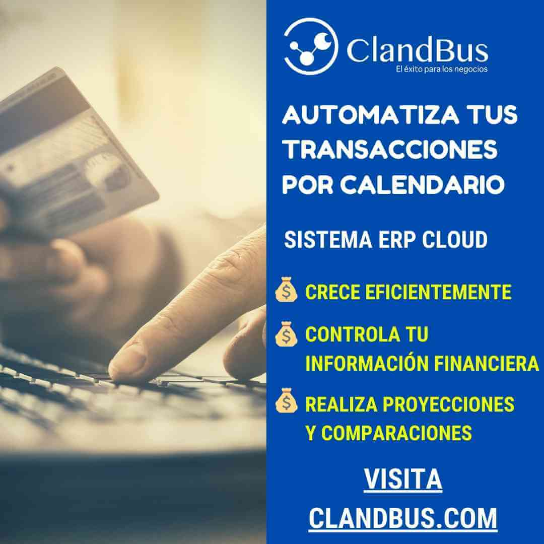 Transacciones Recurrentes- AUTOMATIZA TUS TRANSACCIONES POR CALENDARIO