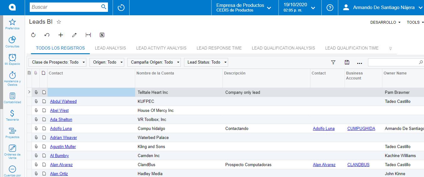 proceso de ventas - Mejora tu seguimiento a clientes y prospectos evitando errores de captura y mejorando la atención con más ventas en ClandBus y Acumatica ERP