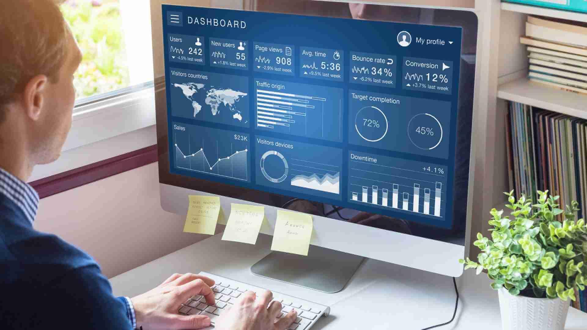 tecnologia business intelligence -Implementa los tableros de acceso rápido con tecnología de negocios junto la mejor hemienta Acuamatica ERP y CladnBus