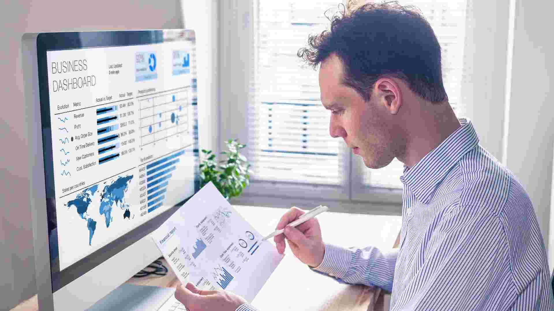 tecnologia business intelligence - Obtén tu información a en tus manos en menor tiempo que otros sistemas con Acumatica ERP y la Asesoría de ClandBus